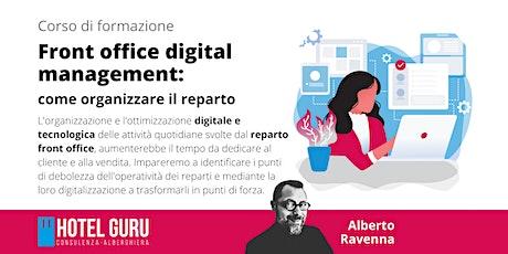 Front Office digital management: come organizzare il reparto biglietti