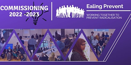 Ealing Prevent Project Commissioning Workshop tickets