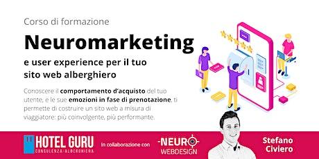 Neuromarketing e User Experience per il tuo sito web alberghiero biglietti