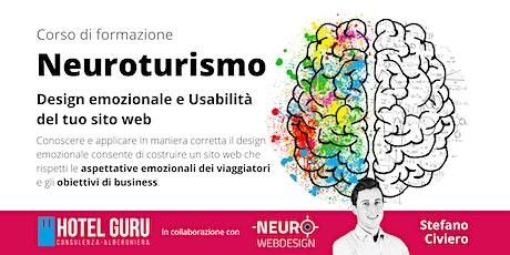 Neuroturismo: Design emozionale e Usabilità del tuo sito web biglietti