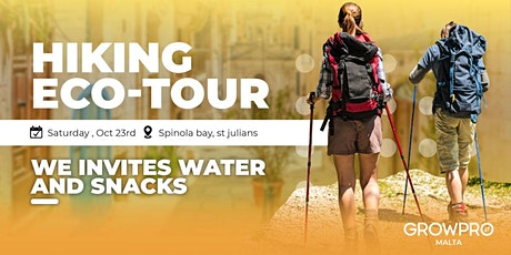 Hiking eco-tour with GrowPro tickets