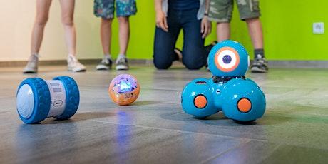 Family-Workshop Robotics: Dash mit Path Tickets
