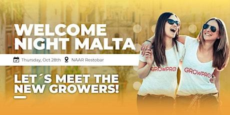 Welcome Night MALTA tickets