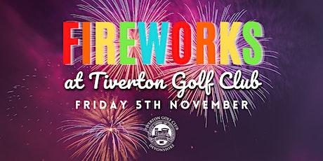 Fireworks night at TGC tickets