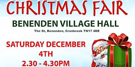 Benenden Christmas Fair & Santa's Grotto tickets