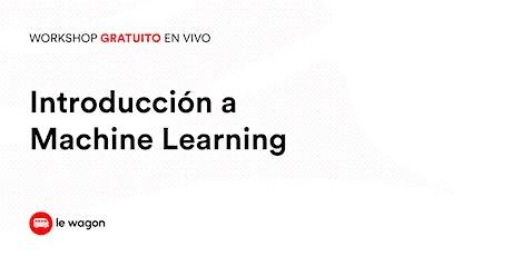 Workshop Gratuito | Introducción a Machine Learning biglietti
