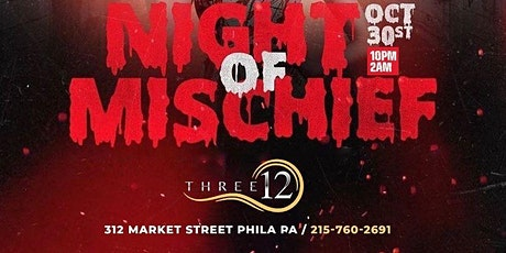 #SaturdayNightLive Night of Mischief October 30th 10p-2a FREE B4 12 w/RSVP tickets