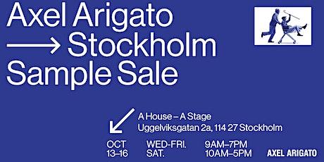 Axel Arigato Stockholm Sample Sale biljetter