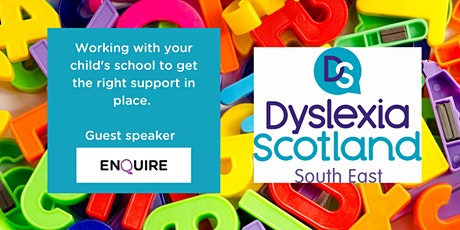 Dyslexia support for your child at school tickets