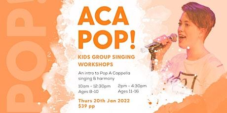 ACA POP!   |   Voices Co. Summer Singing Workshops tickets