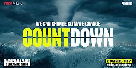 TEDxMilano Countdown || STREAMING tickets
