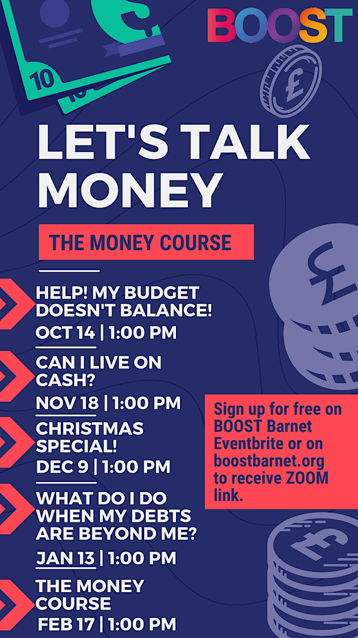 The Money Course - Help! My budget doesn't balance! image