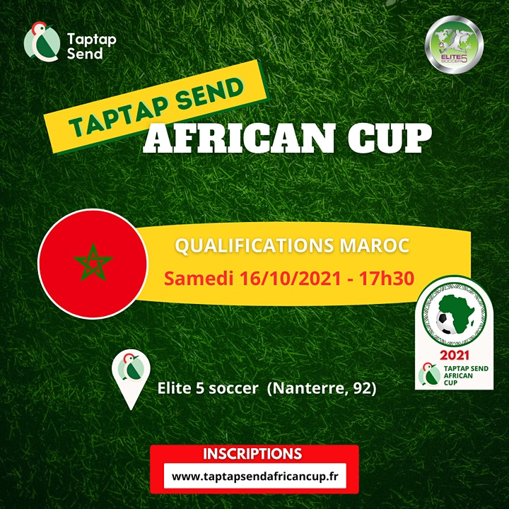 Image pour Qualifications Maroc - TAPTAP SEND AFRICAN CUP