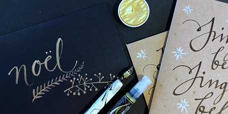 Calligraphy workshop - Christmas cards & gift tags tickets