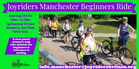 Beginners Ride:   Cycling the meadows to Sale Water Park tickets