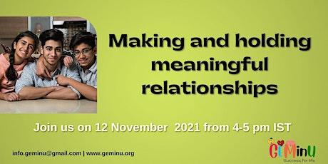Relationship Coaching tickets
