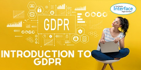 Introduction to GDPR tickets