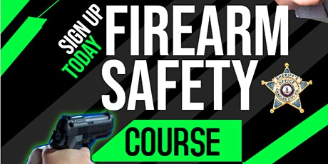 Firearms Safety Course (10/18/2021) tickets