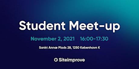 Student Meet-up at Siteimprove tickets