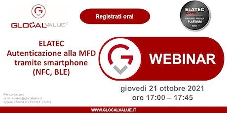 Webinar: Autenticazione alla MFD tramite smartphone (NFC,BLE) biglietti