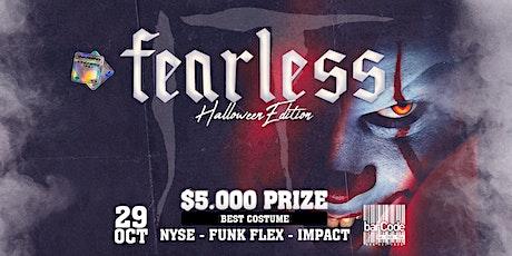 """FEARLESS"" HALLOWEEN EDITION tickets"