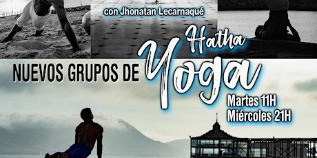 Clases de hatha yoga en Espacio Efimeral entradas
