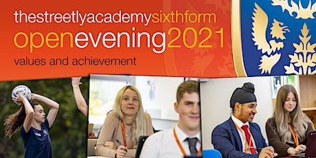 The Streetly Academy Sixth Form Open Evening tickets