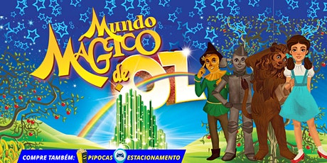 60% de DESCONTO! Espetáculo O Mundo Mágico de Oz no Teatro BTC ingressos