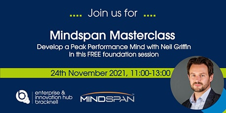 Developing a Peak Performance Mind – Foundations of thinking with MindSpan tickets