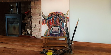 'Highland Cow' Painting  workshop  @  The Jenny Wr tickets