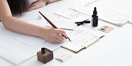 Beginner Modern Calligraphy Workshop (Dip Pen) tickets