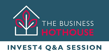 Invest4 Business Grant Fund Q&A Session tickets