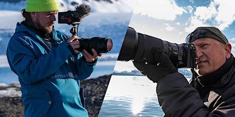 Mikkel Fykse Engelschiøn og Tommy Simonsen - Fujifilm GFX50S II i Arktis tickets