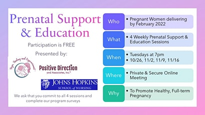 4 Week Series Pregnancy Support Group tickets