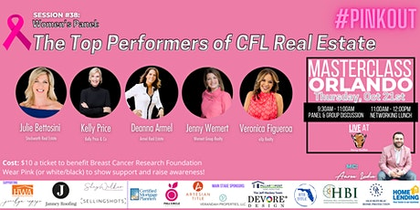 Masterclass Orlando October 2021 [#PINKOut Session tickets
