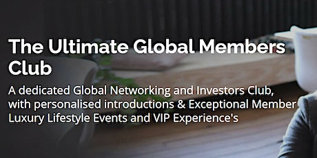 The Exponential Club Virtual Networking Event tickets