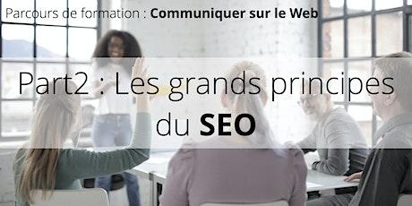 Parcours de formation : Bien communiquer sur le Web • Part2 : Le SEO billets