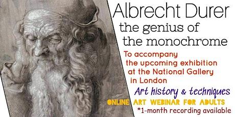 Albrecht Dürer - Online Art Class for Adults tickets