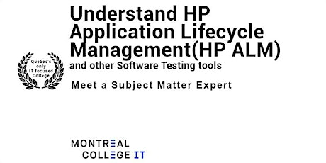 Meet an Instructor - HP ALM & Software Testing in October tickets