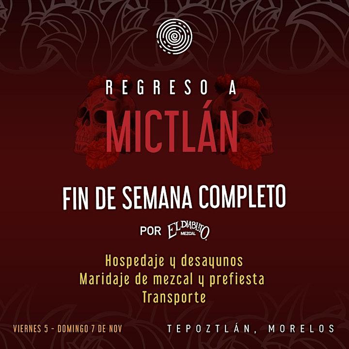 """Imagen de Constelación presenta """"Regreso a Mictlán"""" por El Diablito Mezcal"""