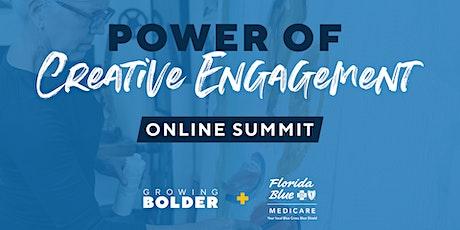 Power of Creative Engagement Online Summit tickets