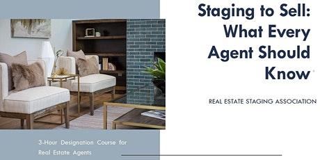 Staging to Sell, What Every Agent Should Know - Online tickets
