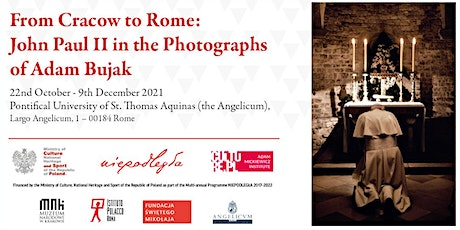 From Cracow to Rome: John Paul II in the Photographs of Adam Bujak biglietti