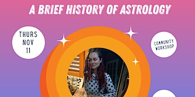 AFAN Presents Elodie St Onge-Aubut: A Brief History of Astrology