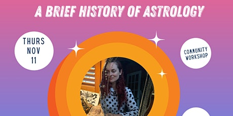 AFAN Presents Elodie St Onge-Aubut: A Brief History of Astrology tickets