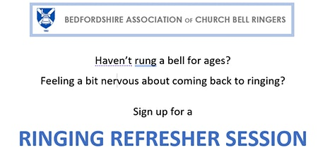 RINGING REFRESHER SESSIONS Wednesday 20 October tickets