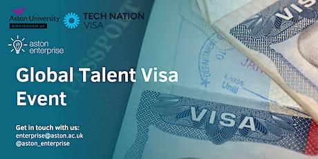 Tech Nation x Aston Enterprise - Global Talent Visa Event tickets