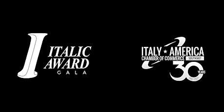 Italic Award Gala - IACCSE 30th Anniversary Celebration tickets