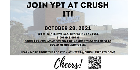 October YPT - DFW Networking Event @ Crush It! tickets