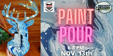 Paint Pour| Light Up Deer tickets
